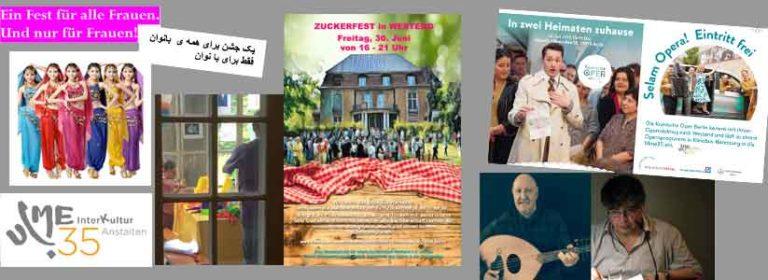 Wir feiern Feste, haben die Komische Oper zu Gast und reisen per Film nach Afghanistan