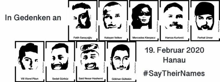 Rassismus tötet: Gedenken an den Anschlag in Hanau